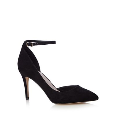 Black 'Cady' hight pointed court shoes