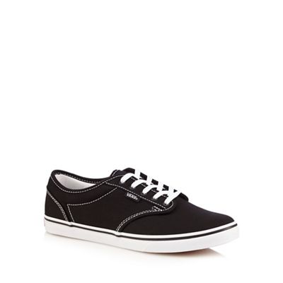 Black 'Atwood' lace up shoes