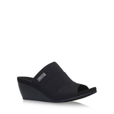 Black 'Chanay' high heel sandals