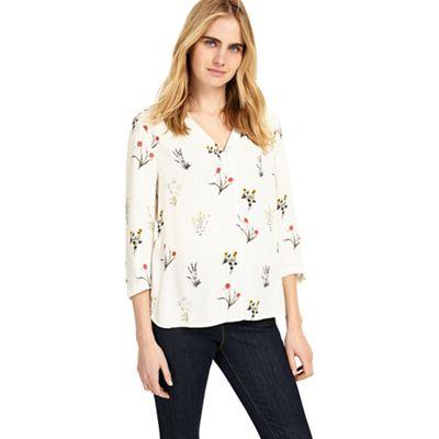 Aria print blouse