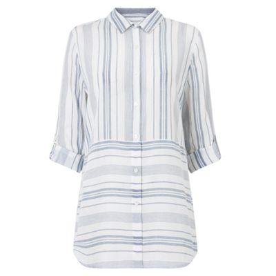 Adela Yarn Dye Stripe Shirt