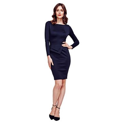 Black Fitzrovia Ponte Dress