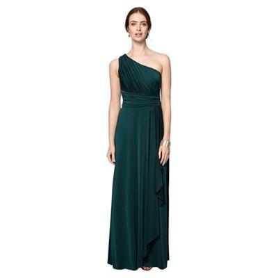 Saffron One Shoulder Dress