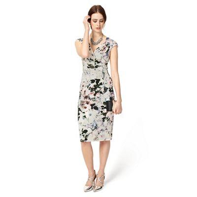 Multi-Coloured Carla Print Dress