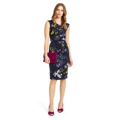Multicoloured Emma floral print dress