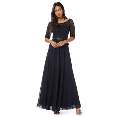 Navy 'Selena' maxi dress