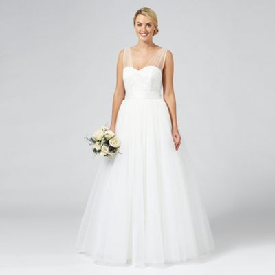 13c92c0b92c137 Ivory  Princess  wedding dress
