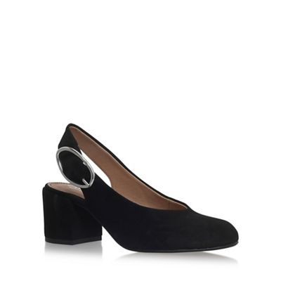 Black 'Alamo' high heel sandals
