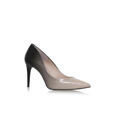 Black 'ALICIA' high heel court shoes