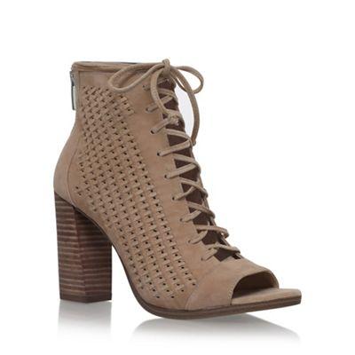 Beige Kevina high heel sandals