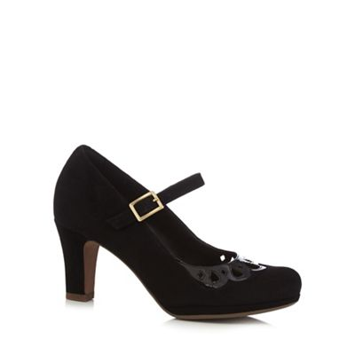 Black 'Chorus Music' court shoes