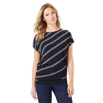 Amy Asymmetric Stripe Top
