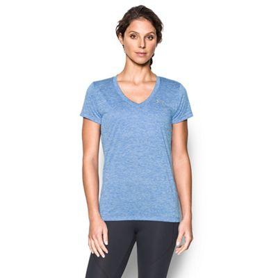 Pale blue V neck t-shirt