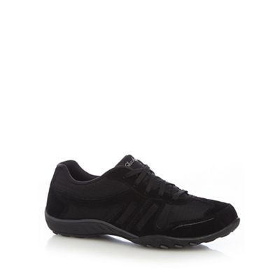 Black 'Breathe Easy Jackpot' trainers
