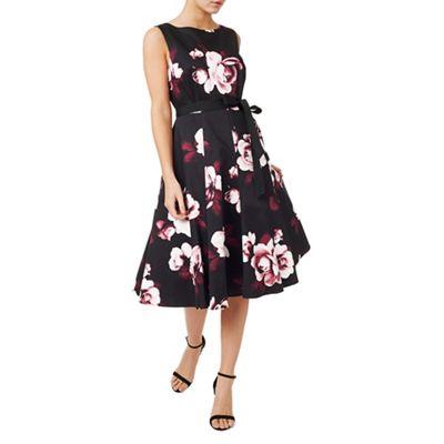 Dana Printed Flared Dress