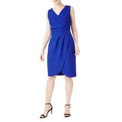 Purple ria wrap dress- web only
