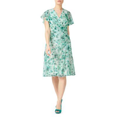 Petite printed soft dress