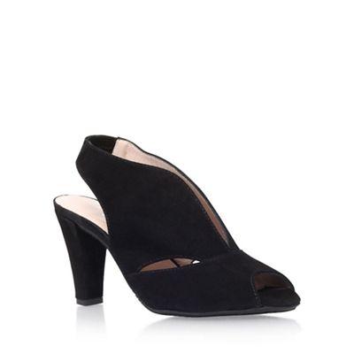 Black 'Arabella' high heel sandal