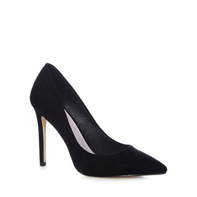 Black 'Chloe' textured courts