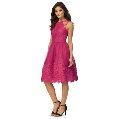 Pink 'Nikita' lace dress