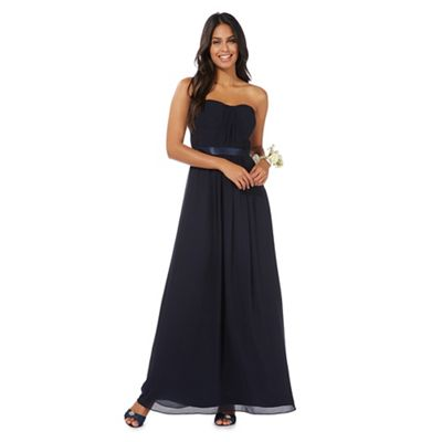 Navy blue 'Sophia' evening dress
