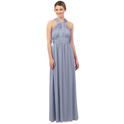 Pale blue multiway evening dress