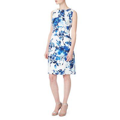 Petite lilah printed shift dress
