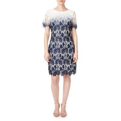 Petite connie lace shift dress