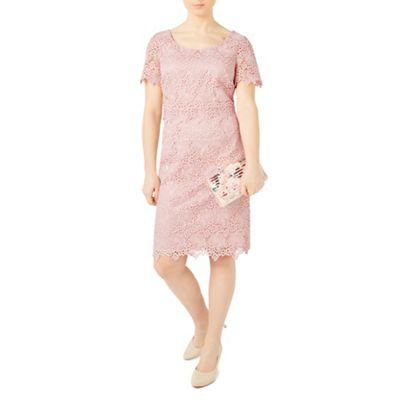 Petite ditsy lace dress