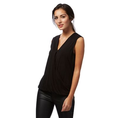 Black wrap over top