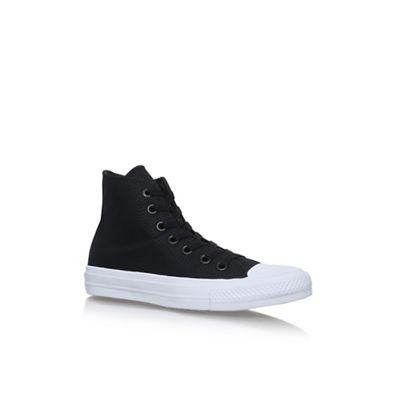 Black 'Ctas II' Hi Flat lace up sneakers