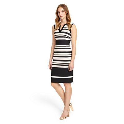 Multicoloured paige stripe dress