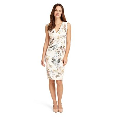 Multicoloured marthe floral dress