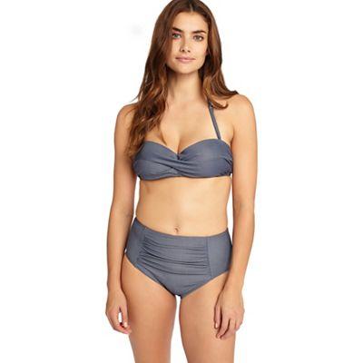 Chambray bikini top