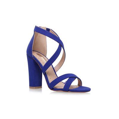 Blue 'Sian' high heel sandals