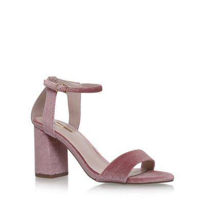 Natural 'GIGI' high heel sandals