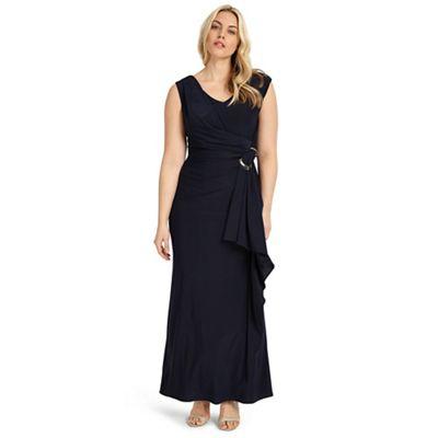Navy pippa maxi dress