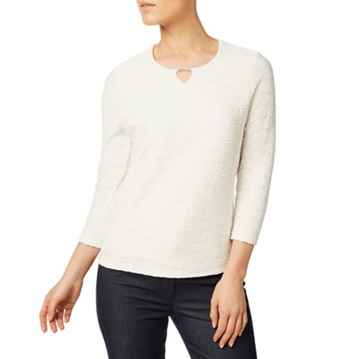 Rope textured top