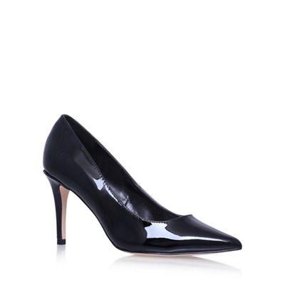 Black 'Kray2' high heel court shoes