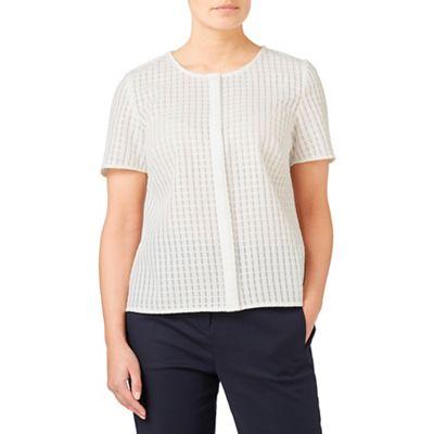 Geo texture blouse