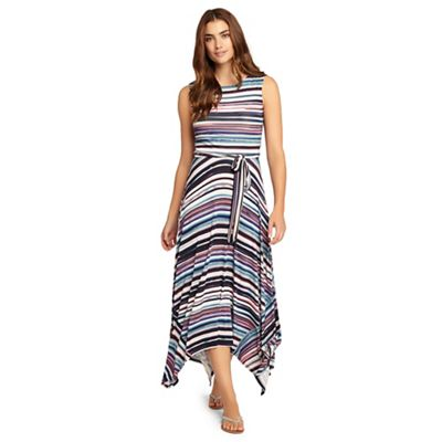 Gwyn stripe maxi dress