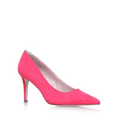 Pink 'Kray2' high heel court shoes