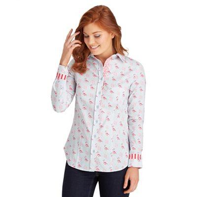 Multi coloured fabulous flamingo shirt