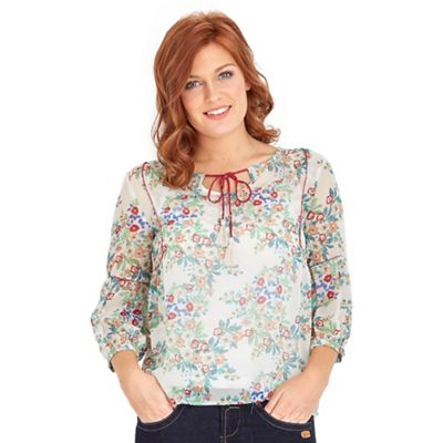 Multi coloured got to have gypsy blouse