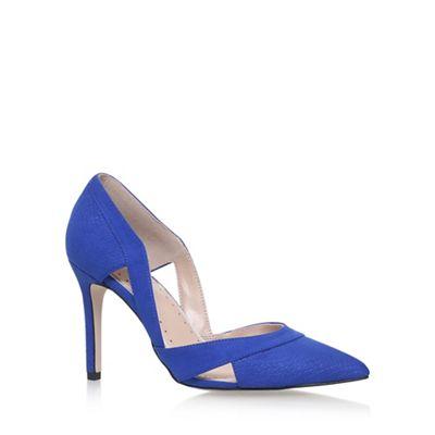 Blue 'CEILE' high heel sandals