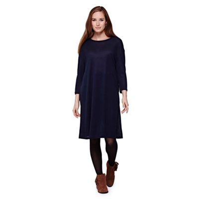 blue Tunic Top With Long Sleeves