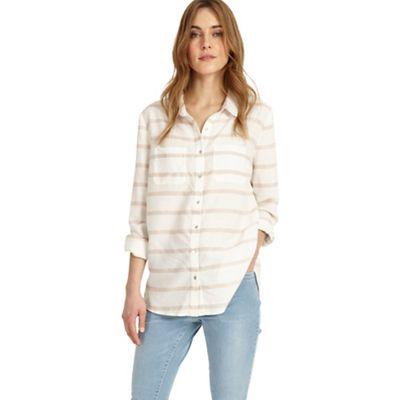 White Elisabeth Stripe Shirt