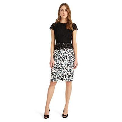 Black Fantasia Lace Dress