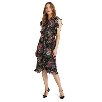 Riley ruffle floral dress
