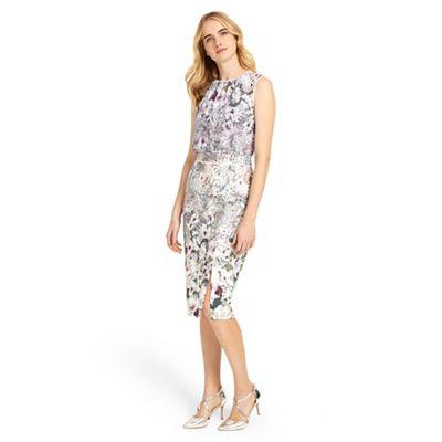 Multi-coloured evora dress